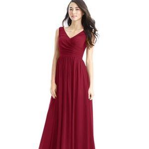"""Azazie Size 2 """"Keyla"""" Dress in Burgandy"""